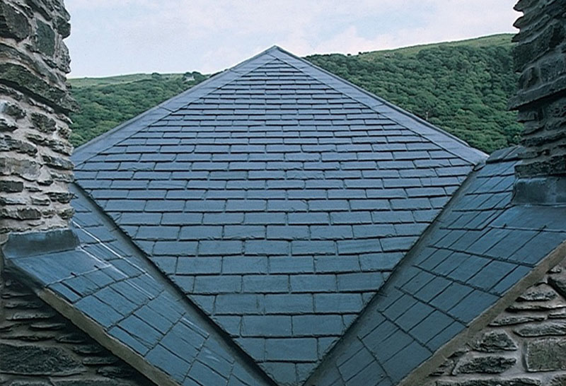 Welsh blue grey roofing slates