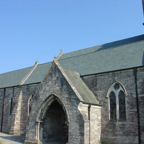 Corfe Castle Church - Dorset (Honister Roofing)