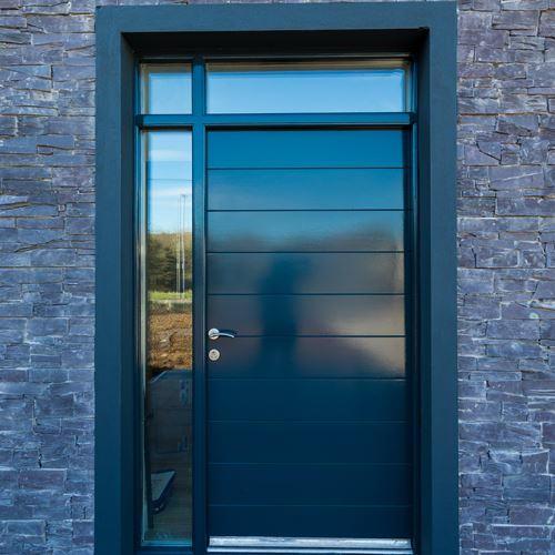 Door-surround-clad-with-Z-Stone-Cladding-Welsh-Slate