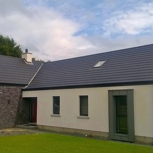 Penrhyn Z-Stone and Snowdon Slate Roof