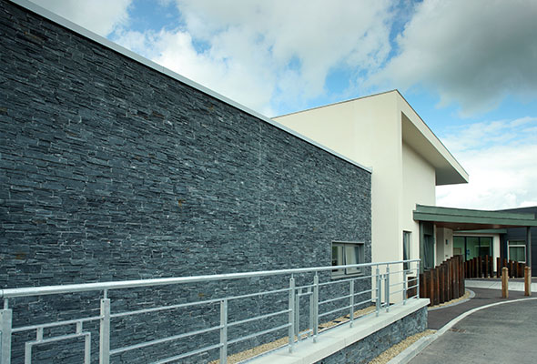 Craigavon Area Hospital Black Slate Z Stone