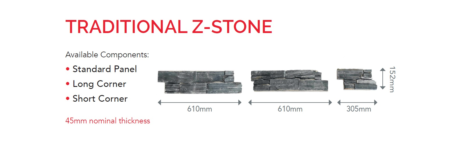 Traditional Format Z Stone
