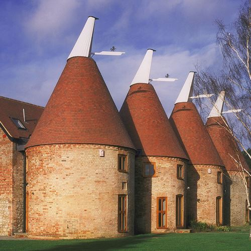 Boormans Farm Oast Re-roofing of Oast Houses Country Brown