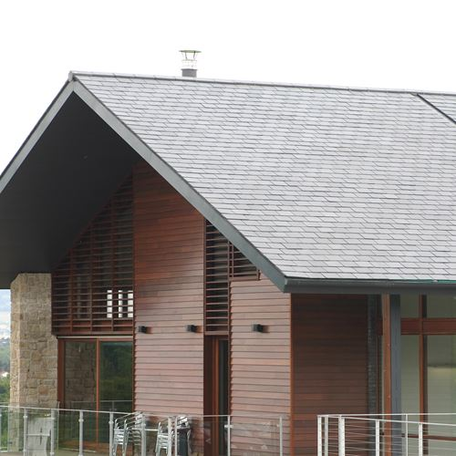 Belvoir Golf Club Slate Roof