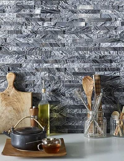 Forest Marble Riven Wall Cladding Panelling