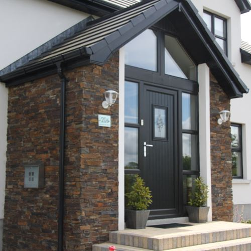 Multi Slate Porch