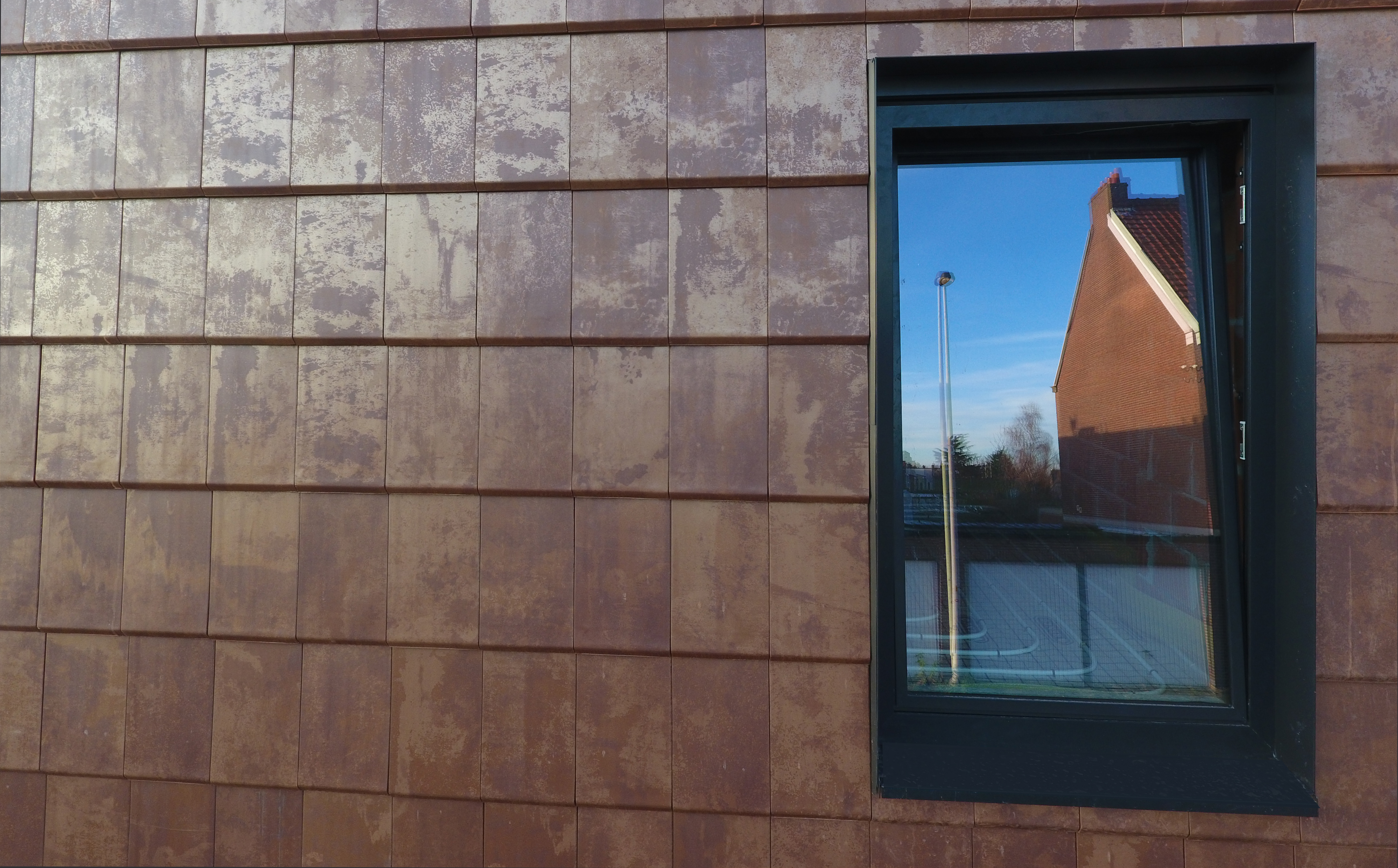 Copper Cladding - External Wall