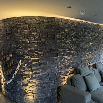 Black Slate used internally on a curved feature wall.jpg